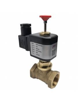 Клапан электромагнитный газовый КЕМГ NA DN25 ~220В